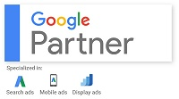 NET invenio - certifikovaný partner Google