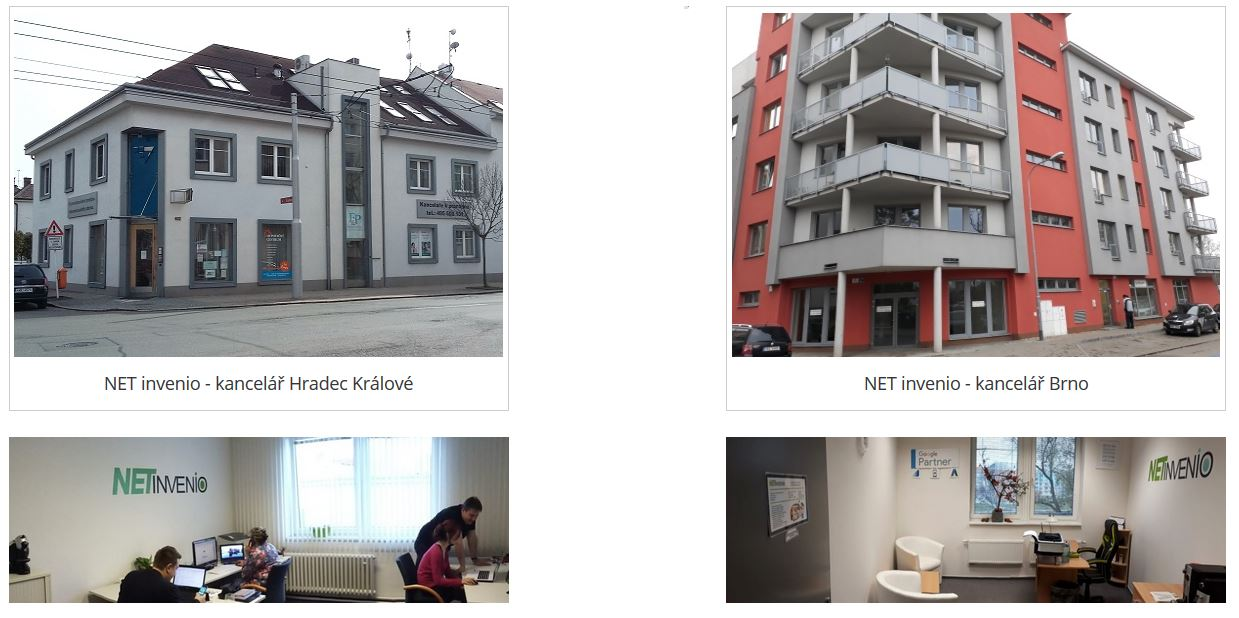 Kanceláře NET invenio